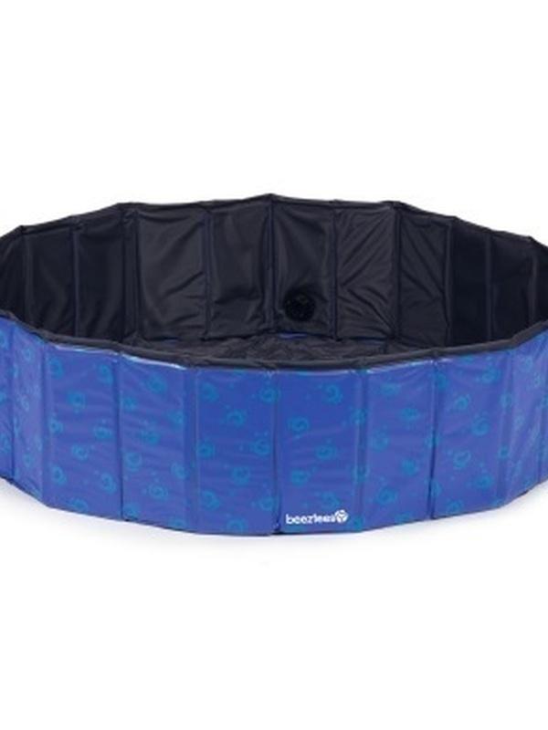 Doggy Dip - Hondenzwembad - Blauw - 120x120x30 cm