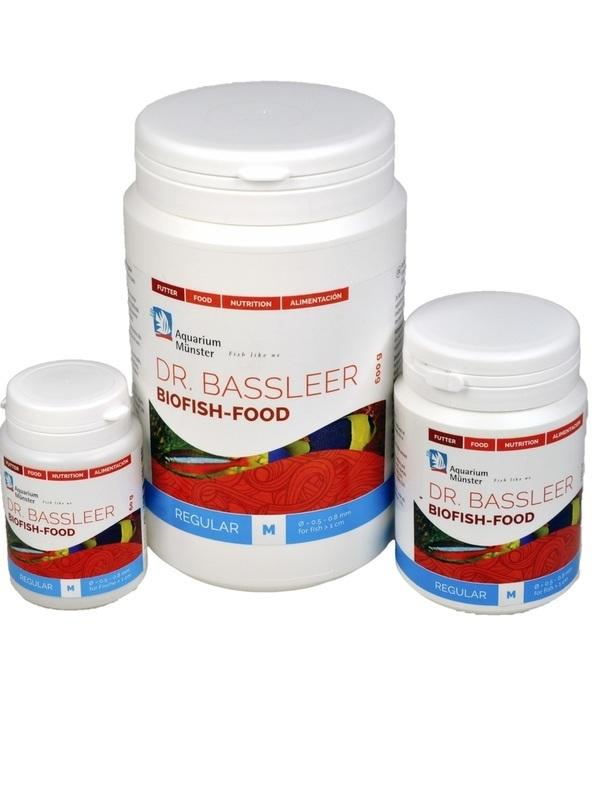 DR.BASSLEER BIOFISH FOOD REGULAR M 600G
