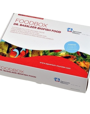 DR.BASSLEER BIOFISH FOOD/CADEAUBOX 60G REGULAR/CHLORELLA/GARLIC/ACAI M