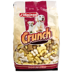 Koekjes Crunch puppy treats 500 gr