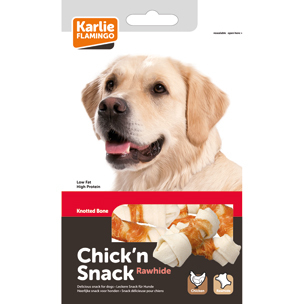 Chick'n snack knotted bone 85 gr